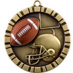 Football 3-D 360 Series Medals