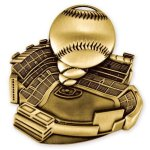 Stadium Medal -Baseball  Baseball Trophy Awards