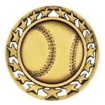 SM Medal -Baseball  Baseball Trophy Awards