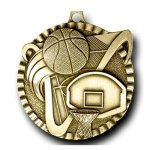 Value Medal -Basketball Basketball Medals
