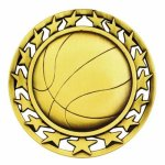 SM Medal -Basketball  Basketball Trophy Awards