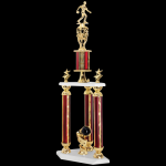 Two Tier Trophy -Bowling  Bowling Trophy Awards