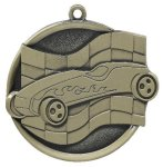 Mega Medal 2 1/4 Pinewood Derby Car/Automobile Trophy Awards