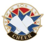 USA Sport Cheerleader Medals Cheer Medals
