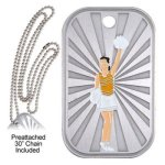 Cheer Dog Tag Cheer Medals