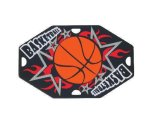 Basketball Street Tags Dog Tags