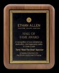Plaque with Diamond Plate Award Employee Recognition