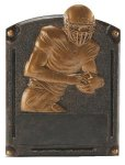 Football Legends of Fame Award Fantasy Football Trophies