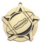 Football Super Star Medal  Gold Football Medals