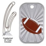 Football Dog Tag Football Medals