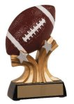 Football Shooting Star Resin Trophy Football Resins
