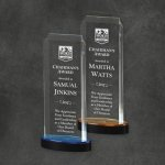 Spectra Tower Gold Acrylic Awards