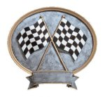 Legend Racing Oval Award Pinewood Derby Resin Trophies