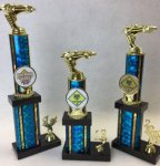 Column Mylar Trophy Set Ring Mylar Trophies