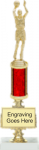 Plate Riser with Column Trophy Riser Trophies