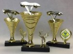 Rising Swirl Cup Trophy Set Rising Swirl Cup Riser Trophies