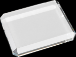 Crystal Rectangle Paperweights Secretary Gift Awards