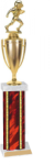 Single Rectangle Column with Cup Trophy Single Column Trophies