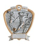 Signature Series Soccer Shield Awards Soccer Resins