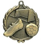Wreath Soccer Medals Soccer Trophy Awards