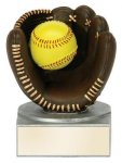 Color Tek Softball Award Softball Resins