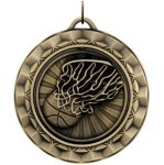 Basketball Spin Spinner Medals