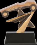Star Power Pinewood Derby Award Star Power Resin Trophy Awards