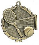 Wreath Tennis Medals Tennis Trophy Awards
