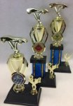 Victory Cup Trophy Set Victory Cup Riser Trophies