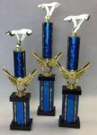 Winged Riser Column Trophy Set Winged Riser Trophies