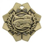 Imperial 2 1/4 Pinewood Derby Medals Wreath Medal Awards